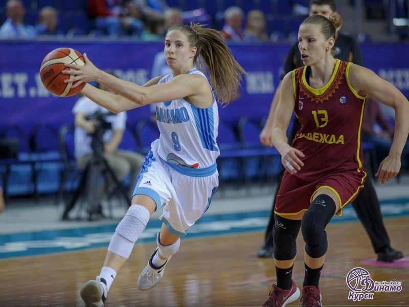 Волейболистки московского «Динамо» выиграли 1-ый матч заключительной серии чемпионата РФ