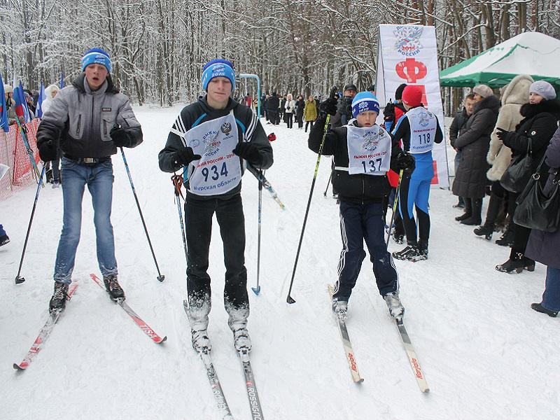 В «Лыжне России» предполагается участие около 4 тыс. граждан Курской области
