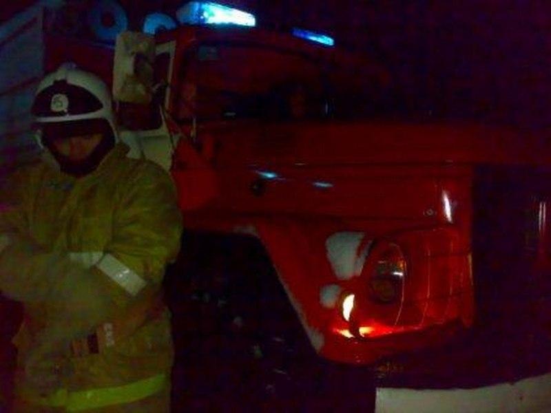 ВКурской области утром впламени умер мужчина