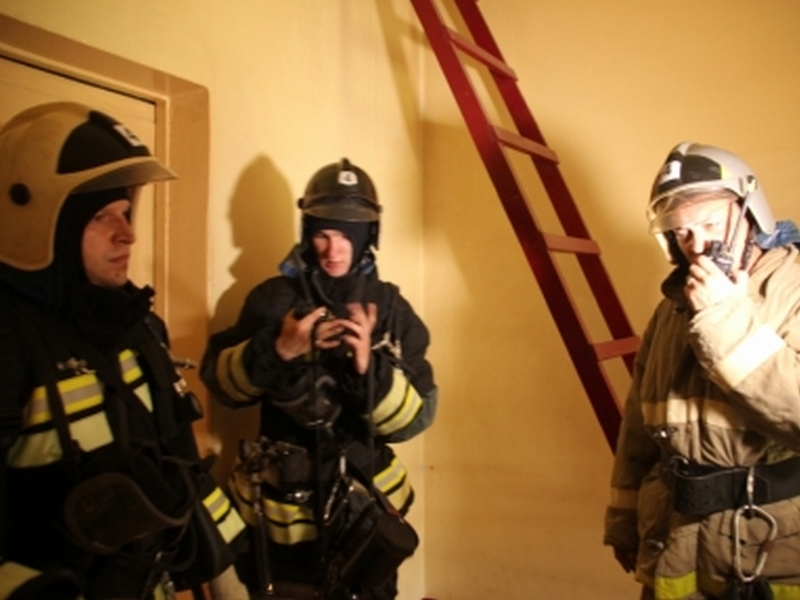 Сегодня в Курске горела гостиница «Центральная»